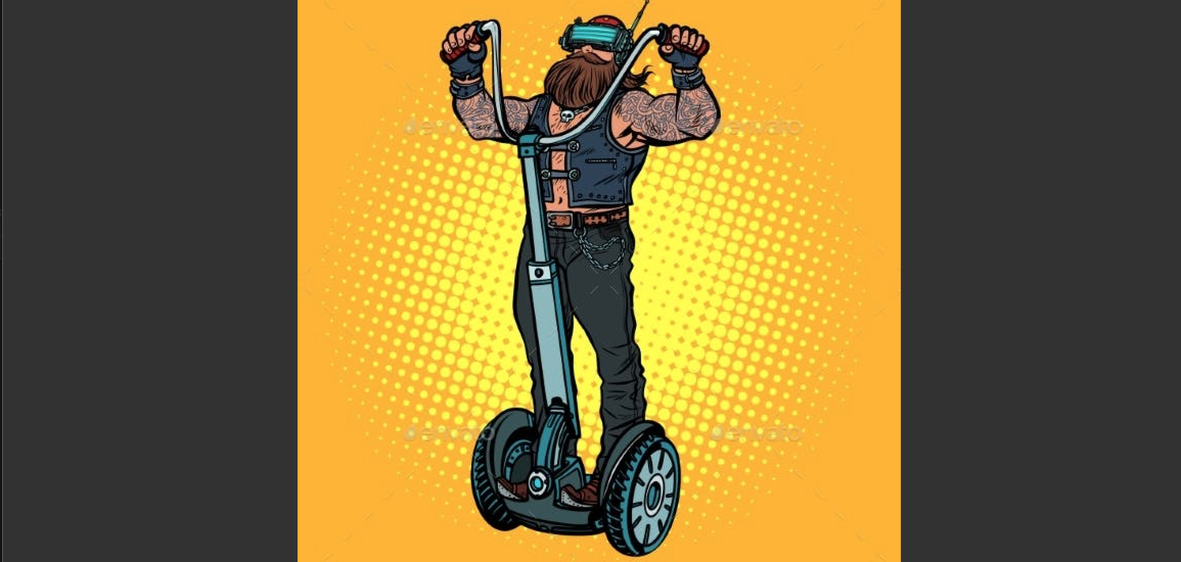 Are VR Autonomous Segways the future, or was it just a dream?